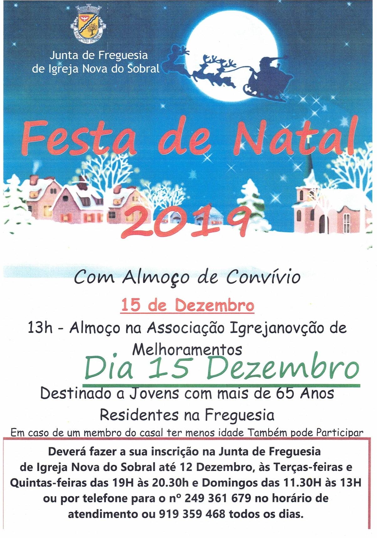 Festa de Natal 2019