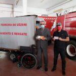 Oferta de equipamento aos Bombeiros de Ferreira do Zêzere